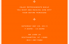 Invite: Joe Fresh Southampton Summer Store Opening (Hamptons)