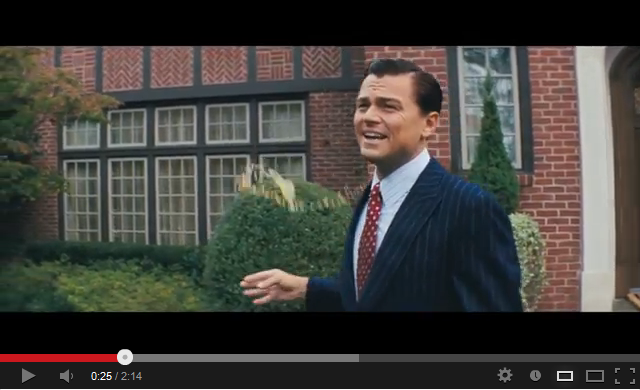 The Wolf of Wall Street Official Trailer Starring Leonardo DiCaprio