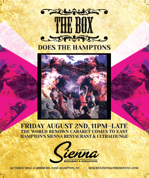 THEBOX does the hamptons