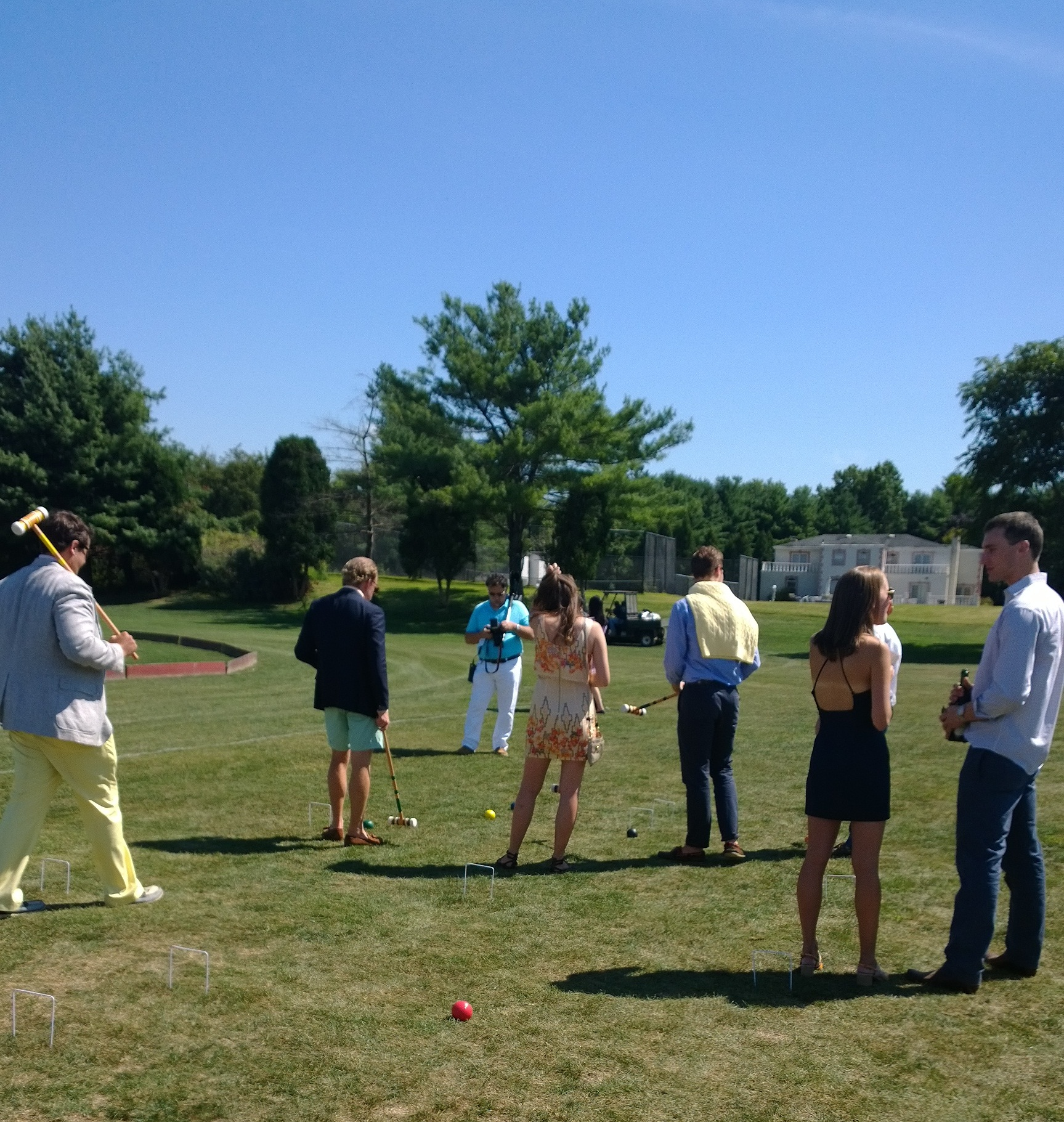 Croquet at the Harriman Cup 2013