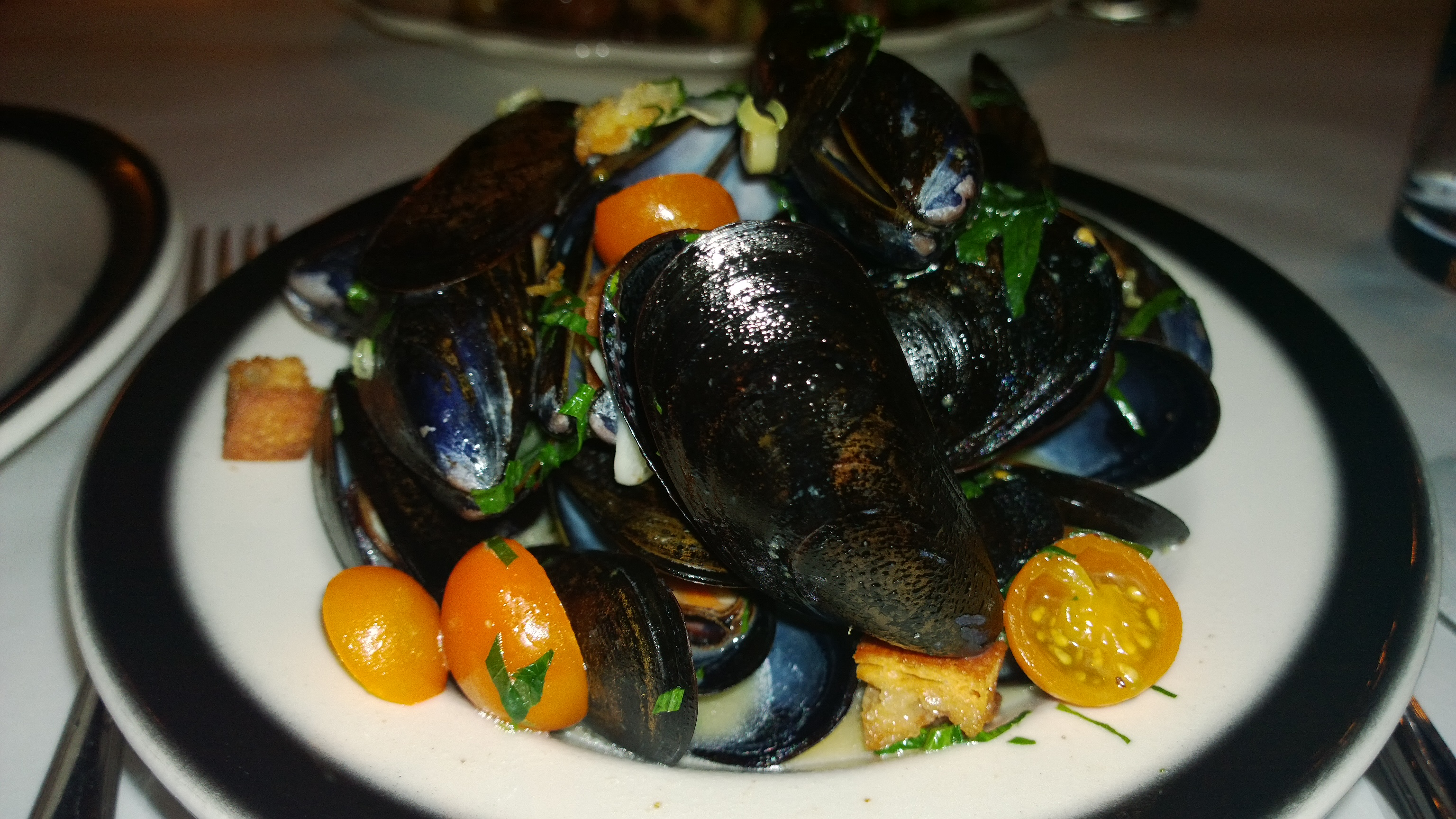 Bill's Food and Drink - Bouchot Mussel