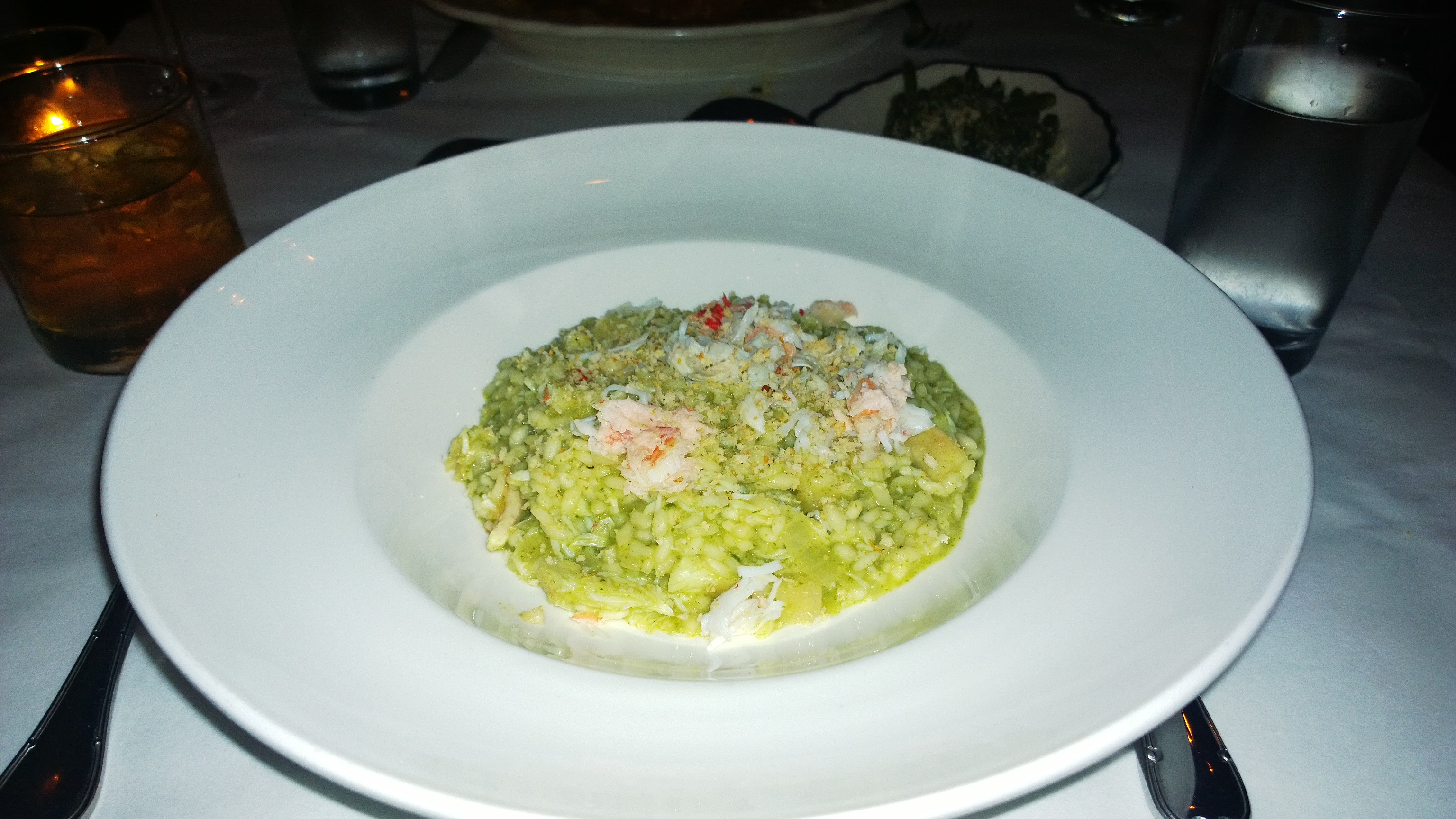 Bill's Food and Drink Risotto