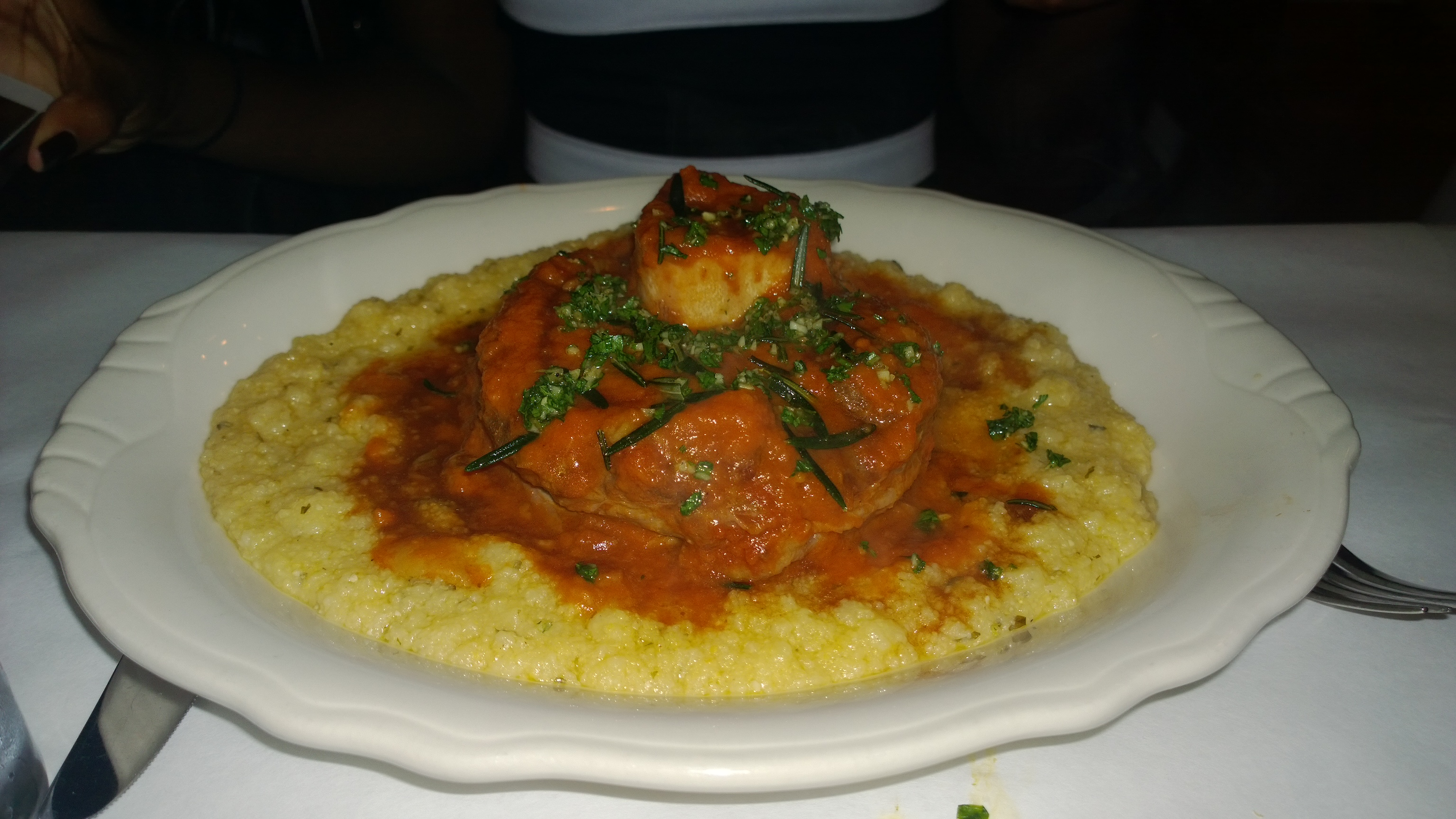 Bill's Food and Drink Osso Bucco