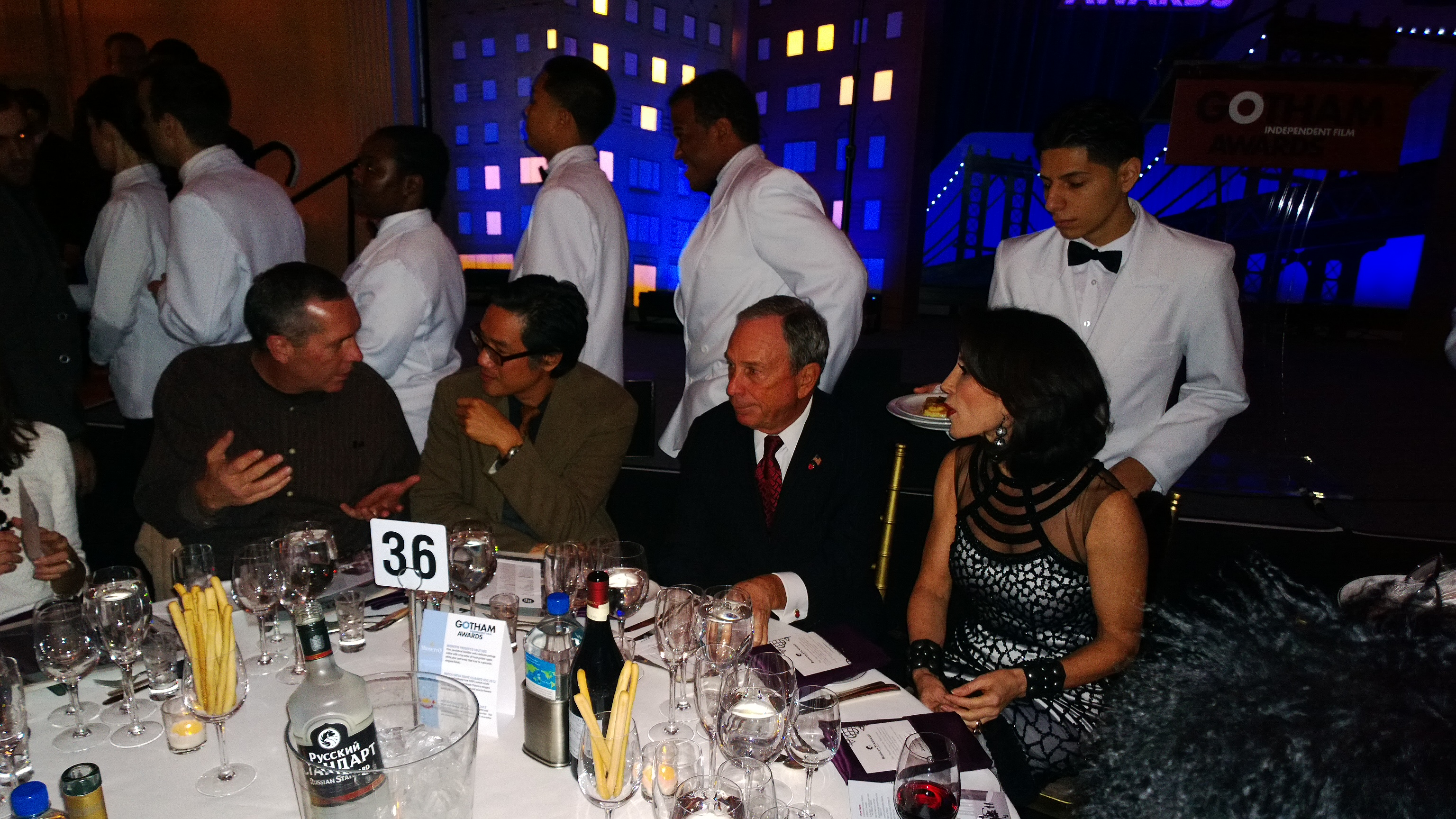 Mayor Bloomberg at the 2013 Gotham Awards