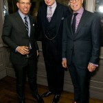 Jonathan Newhouse, Nick Foulkes and Tommy Hilfiger
