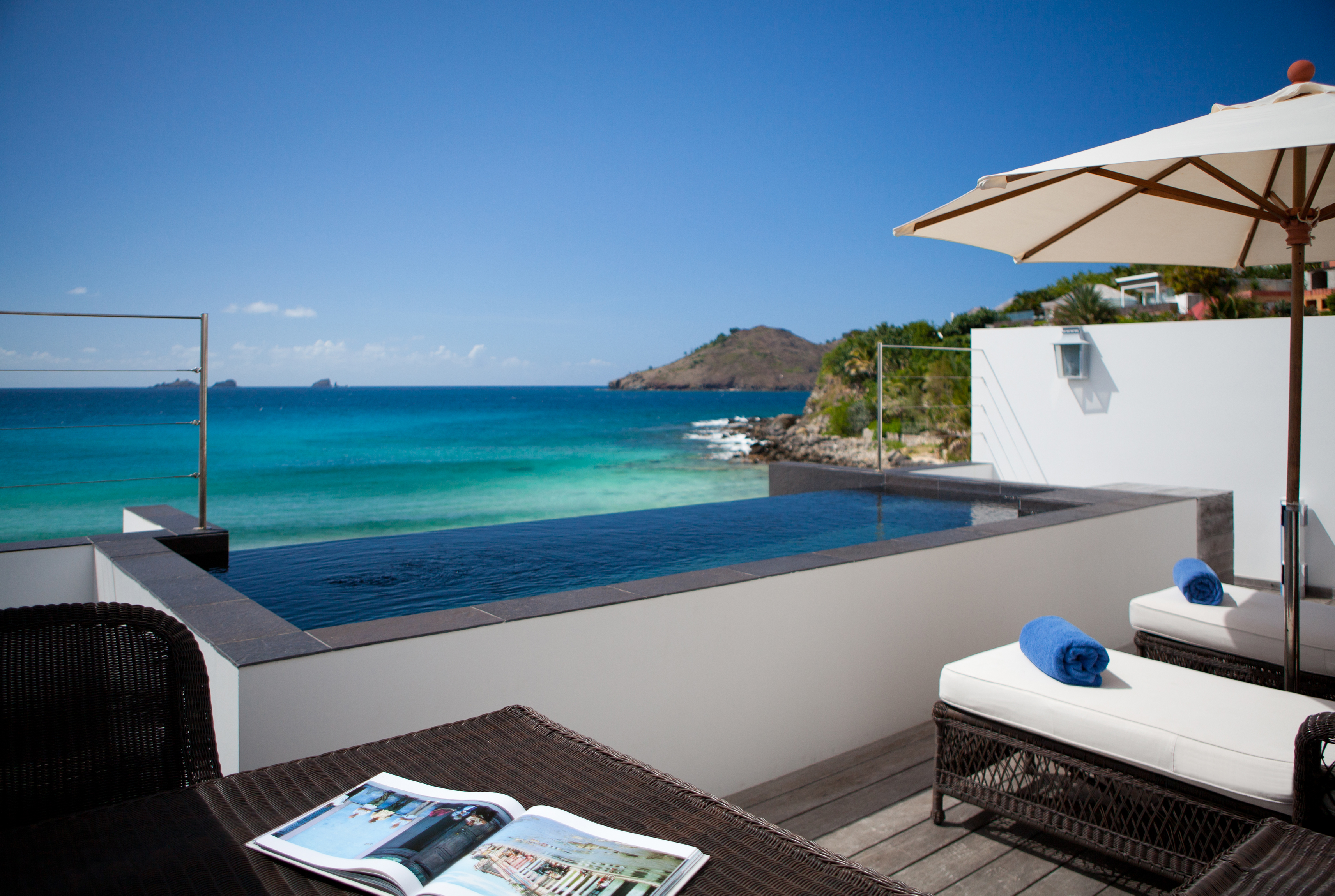PCarreau Beach Suite Terrace Plunge Pool1 Lap in Luxury: Best Pools in the Caribbean