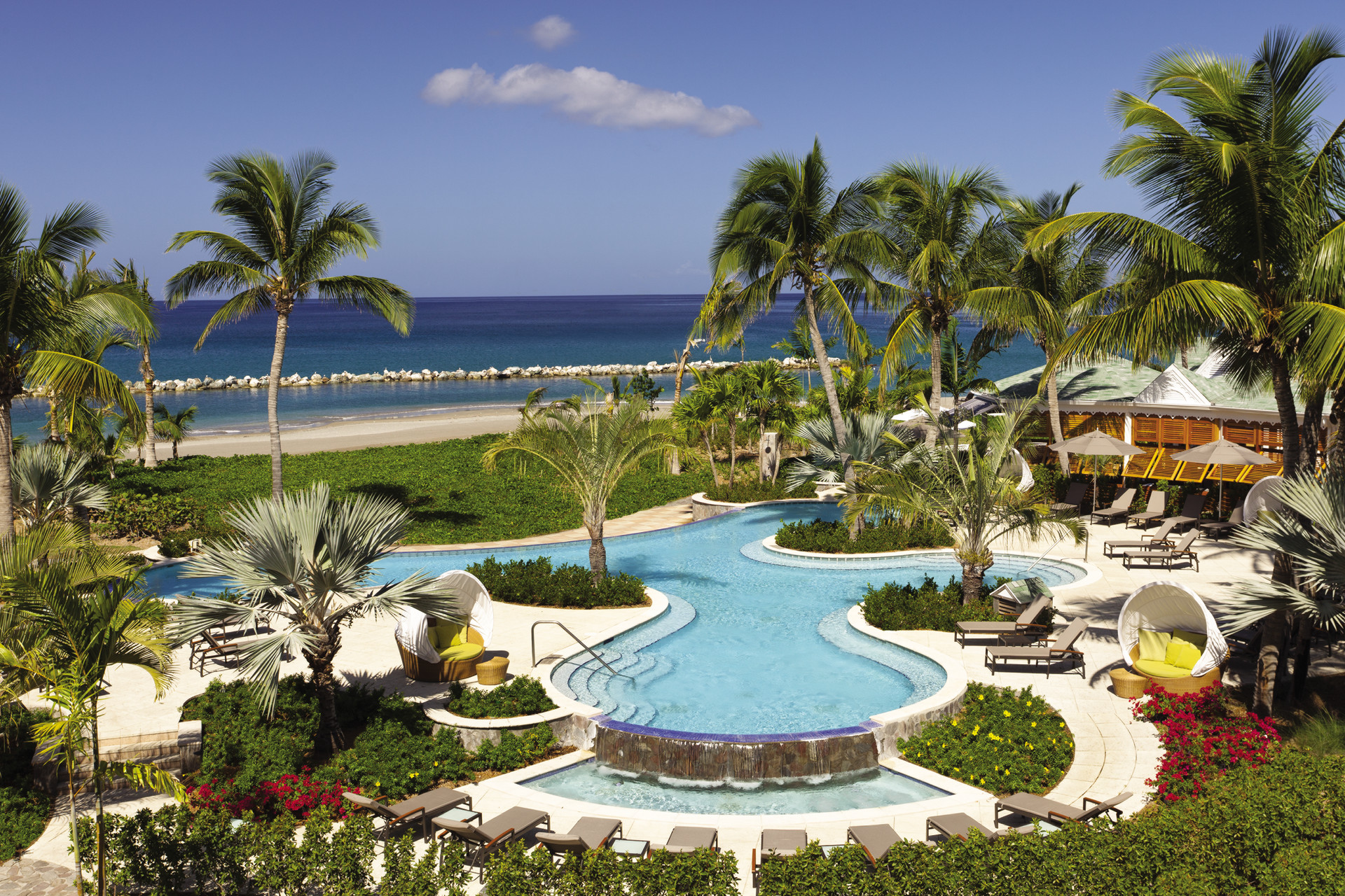 GardenPool NEV 334 Lap in Luxury: Best Pools in the Caribbean