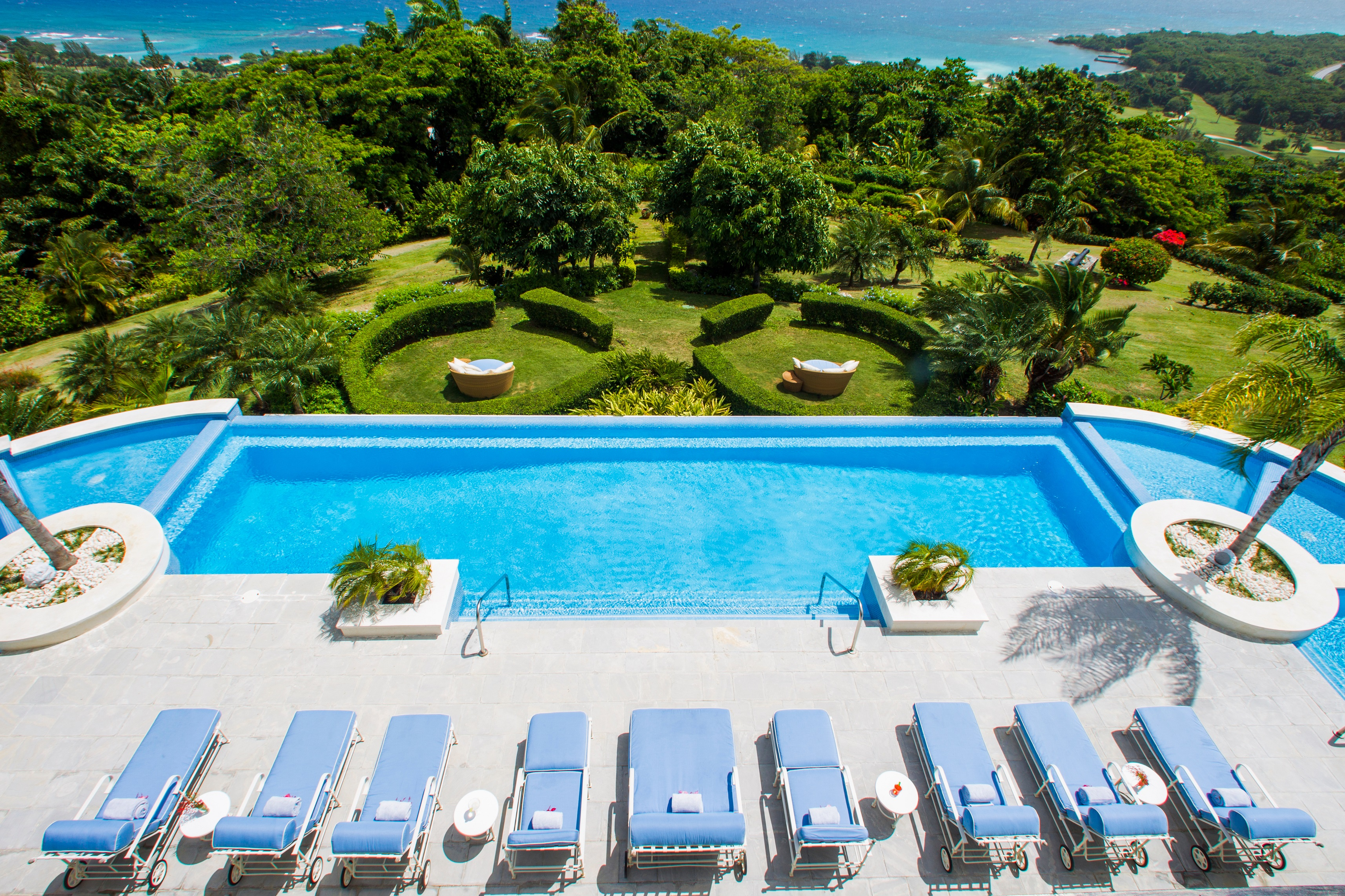 TwinPalms pool Tryall Lap in Luxury: Best Pools in the Caribbean