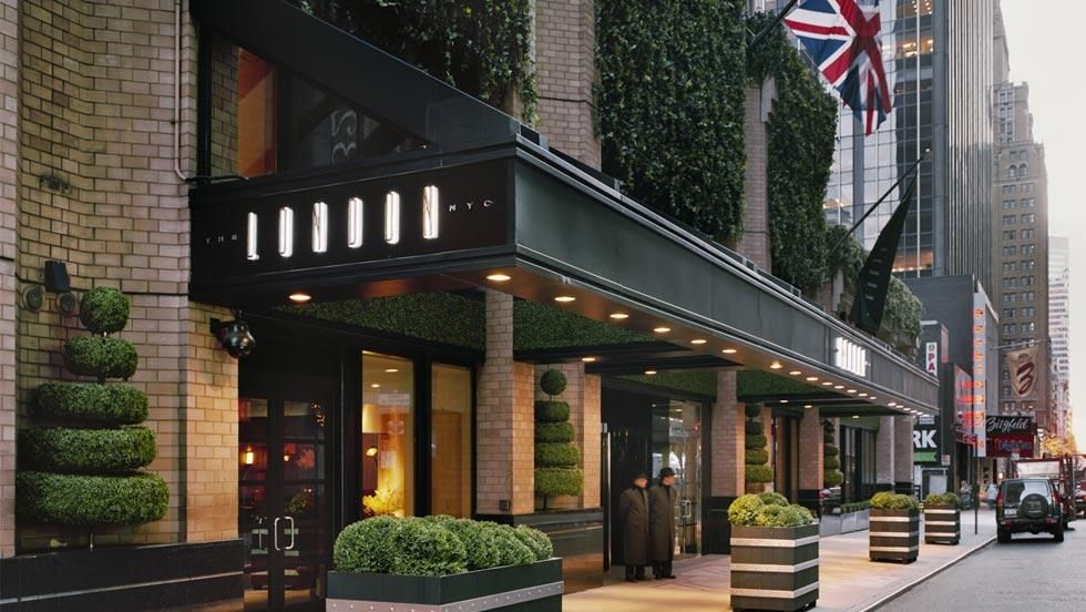 hotel review the london new york city luxuriousprototype. Black Bedroom Furniture Sets. Home Design Ideas