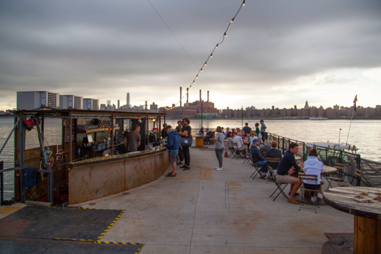Meet The Brooklyn Barge Bar in Greenpoint
