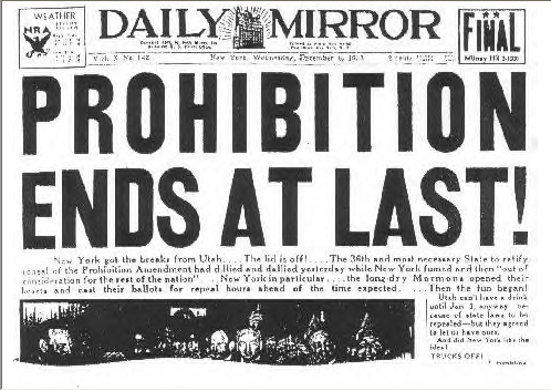 "Invite: ""Let's Misbehave!"" A Prohibition Day Celebration 
