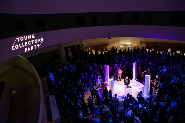 The Scene: Guggenheim's 2017 Young Collectors Party