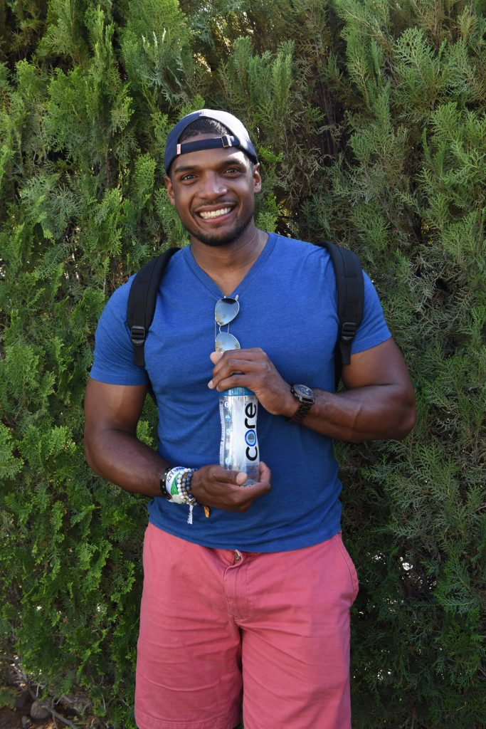 Michael Sam attends Lucky Lounge Presents Desert Jam