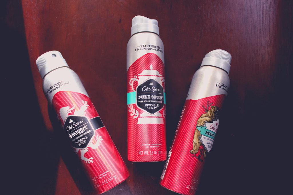 Old Spice Invisible Spray - All Scents