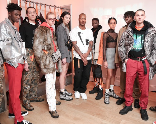 "Heron Preston ""Public Figure"" Fall/Winter 2018"